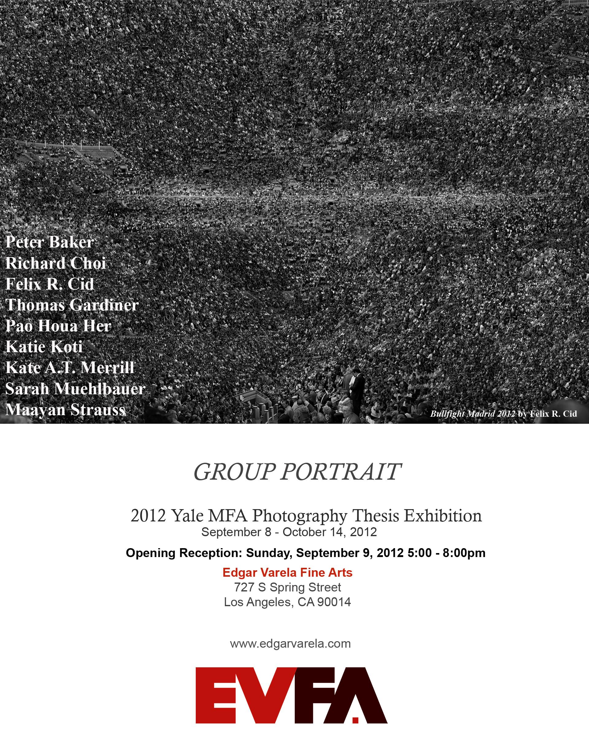 mfa photography thesis