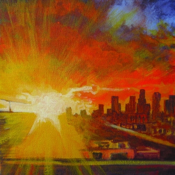 Rodriguez, Sandy-Downtown Muse I-Rooftop Sunset pg 96 (3in)