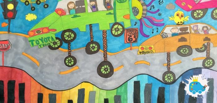 My Music Car by Leah Choi 843x403px