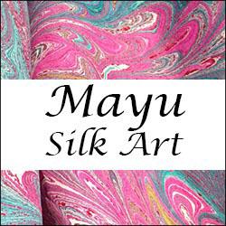 Mayu Silk Art logo 250px