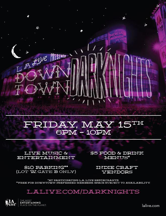 Dark Nights Flyer 5.15.15